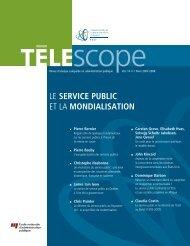 Le service public et la mondialisation - L'Observatoire de l ...