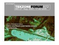 Präsentation - TekZone