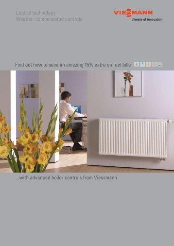 Weather Compensation brochure597 KB - Viessmann