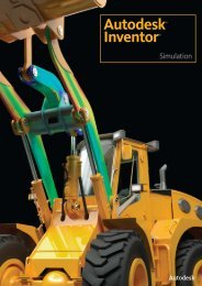 Autodesk Inventor Simulation Suite 2011 Brochure - Cadac Group
