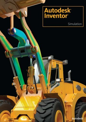 Autodesk Inventor Simulation Suite 2011 Brochure - Cadac Group