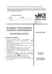 Materiał ćwiczeniowy zawiera informacje prawnie ... - Polska