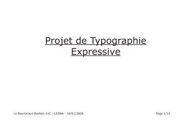 Dossier Typo