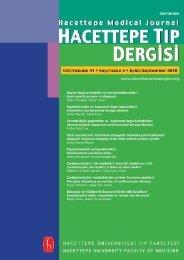 kapak - Hacettepe Üniversitesi Tıp Fakültesi