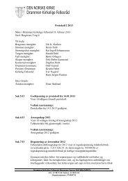 Protokoll 2 2013 - Den norske kirke i Drammen