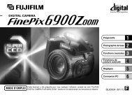Mode d'emploi FinePix 6900Z.pdf - Fujifilm France