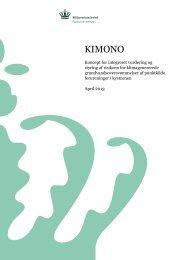 KIMONO (pdf; 8,5 MB) - Naturstyrelsen