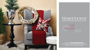 Fall Winter 2012 - HomeSense