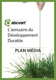 L'annuaire du Développement Durable PLAN MÉDIA - Kiagi.org