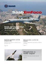 Saab EmFoco Informativo trimestral, Abril 2013