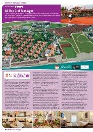 Ali Bey Club Manavgat mit Preisliste » PDF zum ... - Patricio Travel