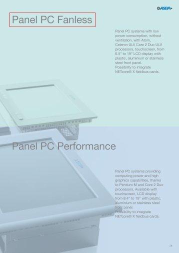 Pannel Pc fanless - Esco Drives & Automation