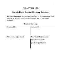 L-Ch15 B Retained Earnings - PageOut
