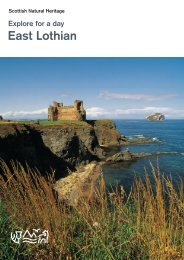 Explore For A Day East Lothian - Scottish Natural Heritage