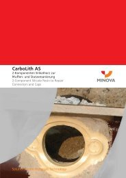CarboLith AS - Minova CarboTech GmbH