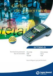 EFT930-S - (terminal point vente) , TPE