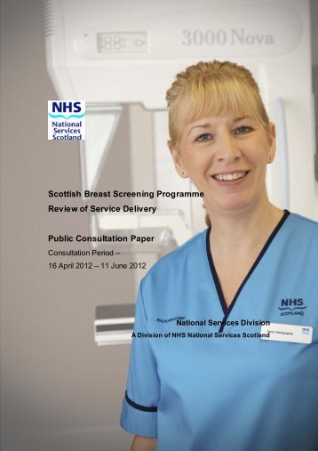 Scottish Breast Screening Programme Review of Service Delivery ...