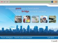 nouveau pont pour le Saint-Laurent
