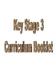 Key Stage 3 Curriculum Booklet - Cotham School