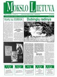 Kai kurios lituanistikos sampratos problemos - MOKSLAS plius