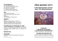 Zeit ist zur wertvollsten Ressource geworden - Kirche in Zürich