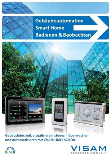 Gebäudeautomation Smart Home Bedienen ... - VISAM GmbH