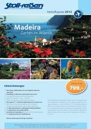 Madeira - Stoll Reisen International