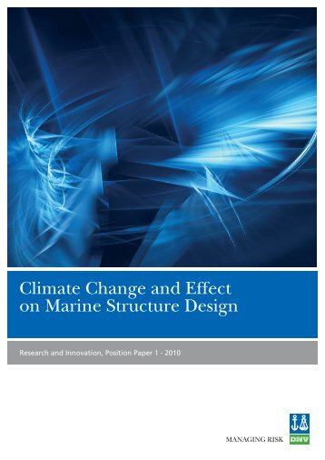 Climate change position paper - DNV