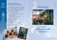 Einladung Adventmarkt