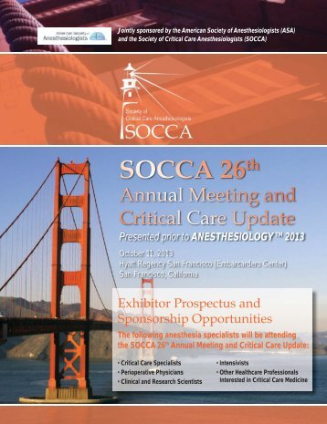Exhibitor Information - American Society of Critical Care ...
