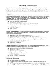 2013 NSAA Awards Guidelines - NASACT