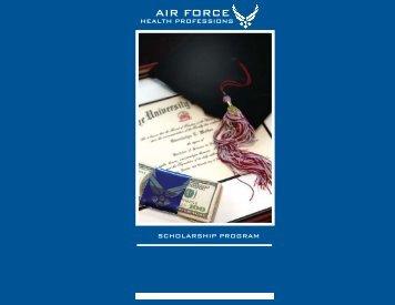 Air Force Health Professions Scholarship Program (HPSP)
