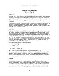 Soybean Tillage Systems_Interim Report - Ontario Soil and Crop ...