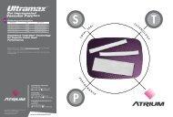 Ultramax Patch Brochure - Atrium Medical Corporation