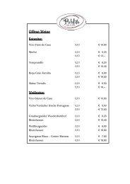 Weinkarte (PDF, 345 KB) - Pablito Tapas & Wein
