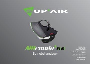 Betriebshandbuch RS RS - Sup'Air