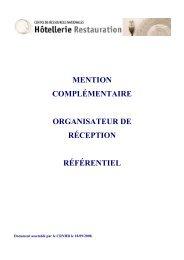Organisateur de réceptions - Ac-montpellier
