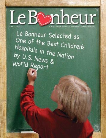 LB Fall 2011 - Le Bonheur Children's Hospital