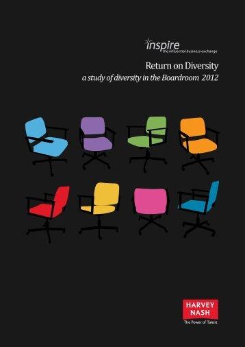 Return on Diversity - Harvey Nash