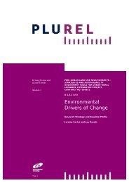 Environmental Drivers of Change - Plurel