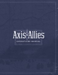Axis & Allies Revised Edition (8.7 MB) - Wizards of the Coast