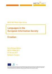 Croatian - CESAR project