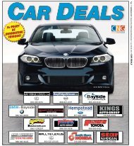 Download our special section for automotive tips and ... - TimesLedger