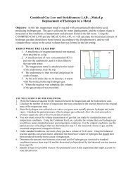 Combined Gas Law and Stoichiometry LAB….MakeUp ...