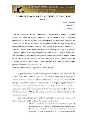 Adelar Heinsfeld - X Encontro Estadual de História – ANPUH-RS