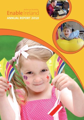 ANNUAL REPORT 2010 - Enable Ireland
