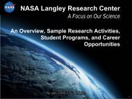 NASA Langley Presentation 9-6-12 - Department of Atmospheric ...