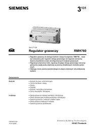 3131 Regulator grzewczy RMH760 - ALPAT