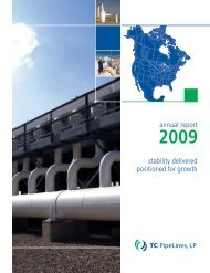 Annual Report - TC PipeLines, LP