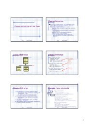 Clases abstractas e interfaces Clases abstractas Clases abstractas ...